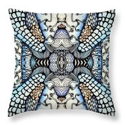 Wild Thoughts Throw Pillow