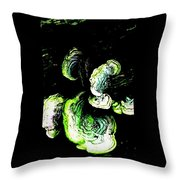 Wild Tree Growth Throw Pillow
