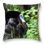 Wild Turkey 2 Throw Pillow