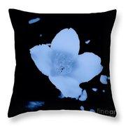 Wild Vine Flower Throw Pillow