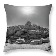 Wild West Rocks Throw Pillow