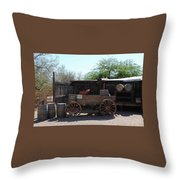 Wild West Still Life Throw Pillow