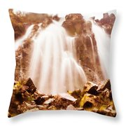Wild West Water Fall Throw Pillow