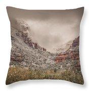 Boynton Canyon Arizona Throw Pillow