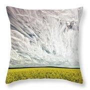 Wild Winds Throw Pillow