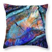 Wild Wood II Throw Pillow