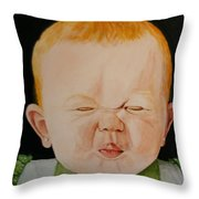 Wildberry Applesauce Throw Pillow