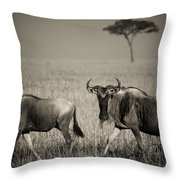 Wildebeest 8947b Throw Pillow