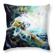 Wilderness - Abstract Throw Pillow