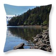 Wilderness Cove Throw Pillow