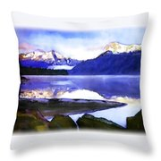 Wilderness Inter Peace Throw Pillow