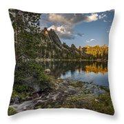 Wilderness Lake Throw Pillow