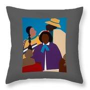 Wildfire A Tribute To Edmonia Lewis Throw Pillow