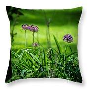 Wildflower Bloom Throw Pillow