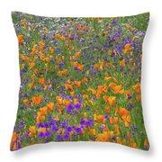 Wildflower Dream Throw Pillow