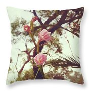 Wildflower I Throw Pillow