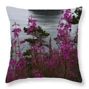 Wildflower Lookout Throw Pillow