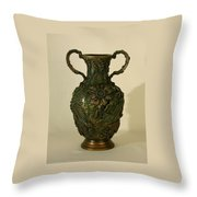 Wildflower Vase Balsamroot Side Throw Pillow