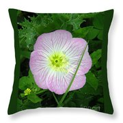 Wildflowers - In The Pink Throw Pillow