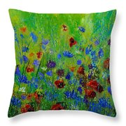 Wildflowers  560121 Throw Pillow