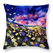 Wildflowers 67 Throw Pillow