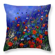 Wildflowers 78 Throw Pillow