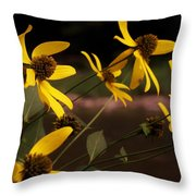 Wildflowers Creekside Throw Pillow