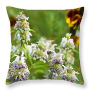 Wildflowers Three Throw Pillow