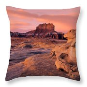 Wildhorse Butte Throw Pillow