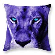 Wildlife Lion 12 Throw Pillow