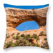 Wildon Arch In Utah Throw Pillow