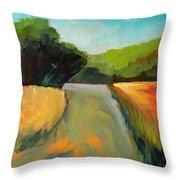 Wildwood Road Throw Pillow