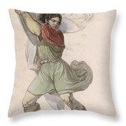 Wilhelm Tell Throw Pillow