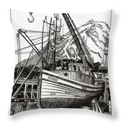 Will Fish Again Another Day Throw Pillow