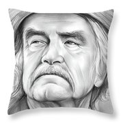 Will Geer Throw Pillow
