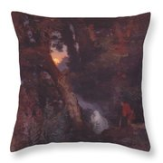 Will O The Wisp 1862 Throw Pillow