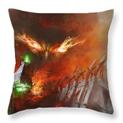 Will Of A Tyrant Throw Pillow