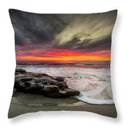 Will Of The Wind Throw Pillow