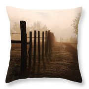 Will They Be Mist Throw Pillow