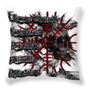Will To Power Throw Pillow