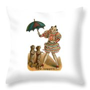 Will Work For Food Throw Pillow