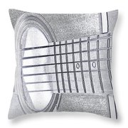 Will You Play For Me Throw Pillow