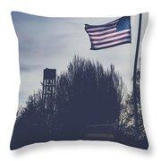 Willamette National Cemetery Throw Pillow