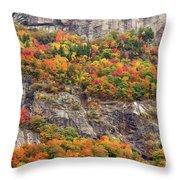 Willard Cliffs Throw Pillow