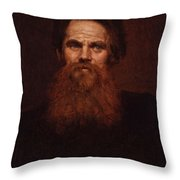 William Holman Hunt Throw Pillow