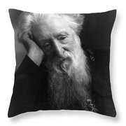 William Booth (1829-1912) Throw Pillow by Granger