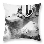 William D. Coney, 1921 Throw Pillow