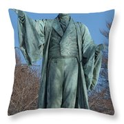 William Ellery Channing Throw Pillow