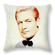 William Holden, Vintage Movie Star Throw Pillow