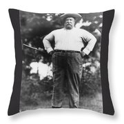 William Howard Taft Throw Pillow